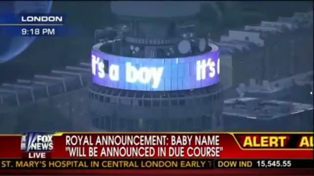 Catherine, Duchess of Cambridge gives birth to Baby Boy