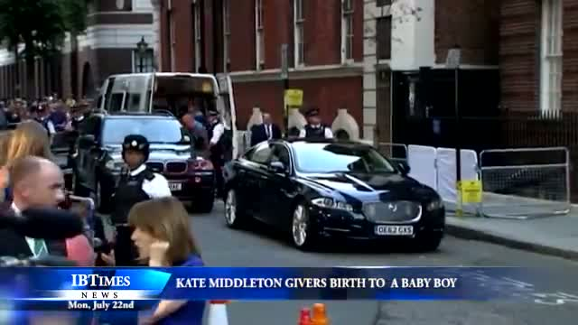 Royal Baby Born: Kate Middleton Gives Birth to Son