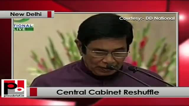 Central Cabinet Reshuffle: Eight new ministers sworn in
