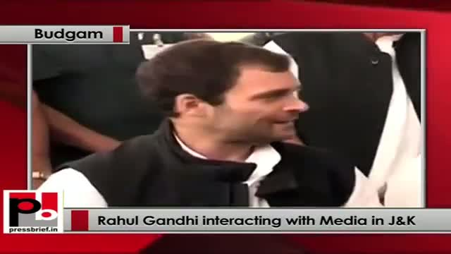 Rahul Gandhi talks about Congress-NC coalition Govt in Jammu & Kashmir