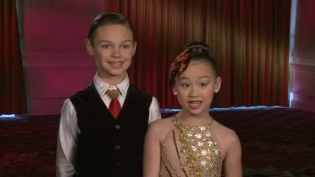 Ruby and Jonas Interview - America's Got Talent 2013