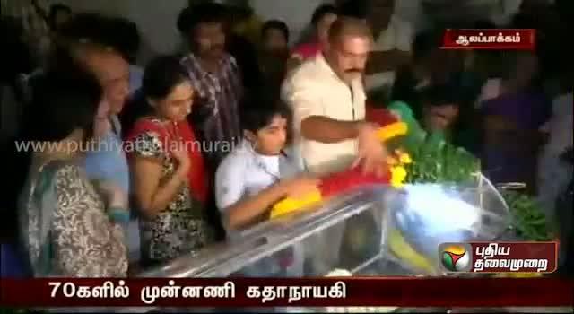 Actress Manjula Vijayakumar passes away