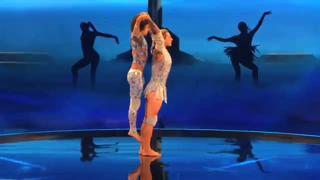 """KriStef Brothers - Acrobatics and Glitter Bombs Set to """"Everything I Do"""" - America's Got Talent 2013"""