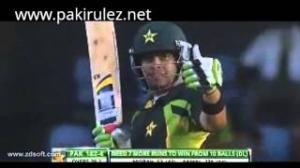Umar Akmal Hit BaDly Them - Pakistan vs West Indies 4th Odi Match (21 July 2013)