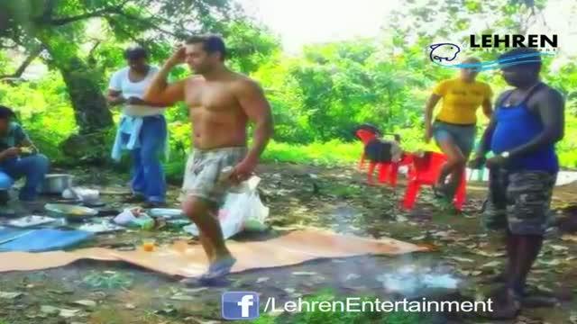 Salman Khan & Lulia Vantur Caught In Jungle: LEAKED PICTURE