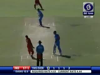 1st ODI: India beat Zimbabwe by 6 wickets