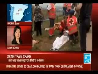 Spain Train Derailment: At Least 35 Killed After Locomotive Derails Near Santiago De Compostela
