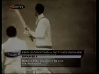 World Record Six Sixes in an Over by Sir Gary Sobers