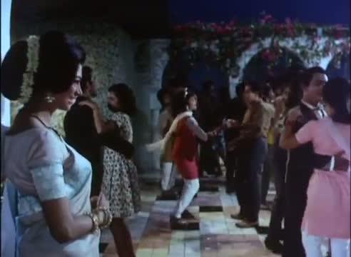Mere Jeevan Saathi - Melodious Romantic Song - Simi Garewal, Rajendra Kumar - Saathi (1968)