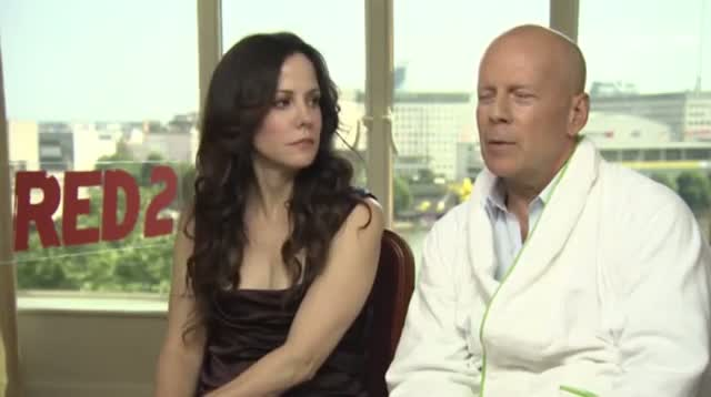 Bruce Willis Sees Mice, Sees Red