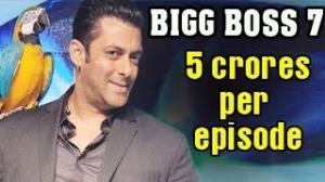 Salman Khan's 130 crore Fee for Bigg Boss 7