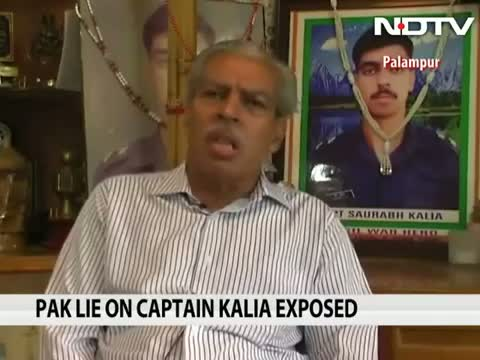 Video shows Pakistani soldier sharing details of Kargil martyr Captain Kalia's encounter