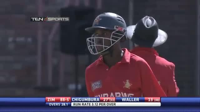 India vs Zimbabwe 4th ODI - CHIGUMBARA 50 Highlights