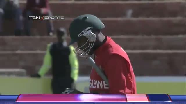 India vs Zimbabwe 4th ODI - Zimbabwe Wickets