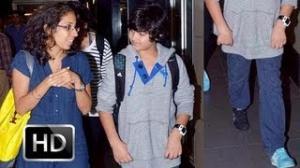 Spotted: Akshay Kumar's son Aarav! (Watch Now)