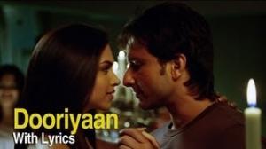 Dooriyan Song With Lyrics - Love Aaj Kal