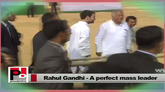 Rahul Gandhi wants better health care facilities and education for the poor