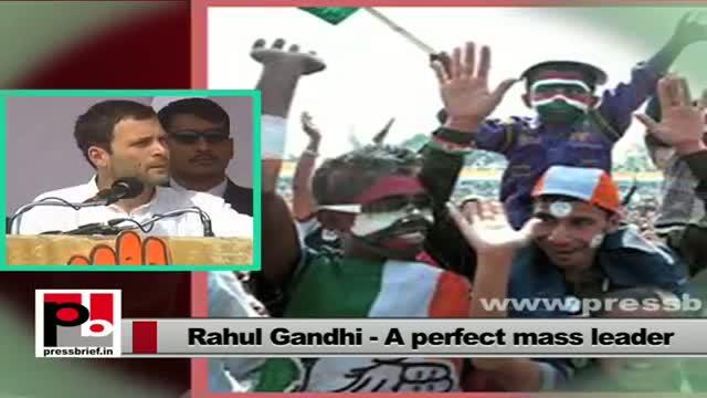 Rahul Gandhi talks about UPA's MGNREGA policy