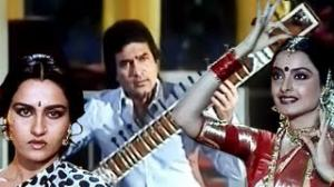 Neele Ambar Ke Do - Kishore Kumar Best Song - Rajesh Khanna, Rekha, Reena Roy - Asha Jyoti