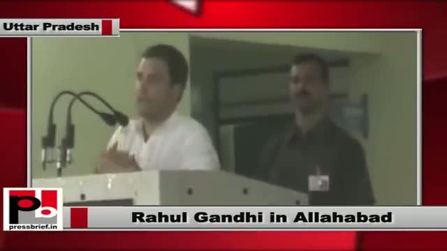 Rahul Gandhi inaugurates indoor facility at Kamla Nehru Memorial hospital at Allahabad