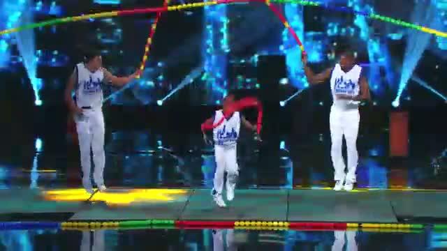 Chicago Boyz - Acrobatic Team's Amazing Human Jump Rope Routine - America's Got Talent 2013