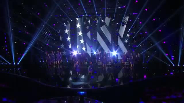 "American Military Spouses Choir - Military Wives Perform ""Hero"" Cover - America's Got Talent 2013"