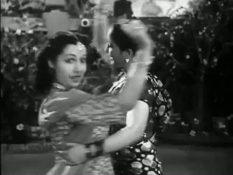 Baag Me Koyaliya Yehi Gaye - Classic Fun Hindi Song - Dilip Kumar, Mumtaz Shanti - Ghar Ki Izzat (1948)