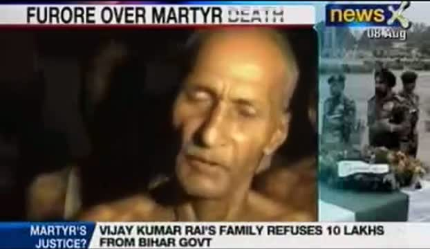 LoC killing: Martyr's families want justice not compensation