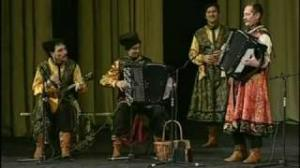 "Russian folk song. KOROBUSHKA. ""Russian Cossack"". PEDLARS"