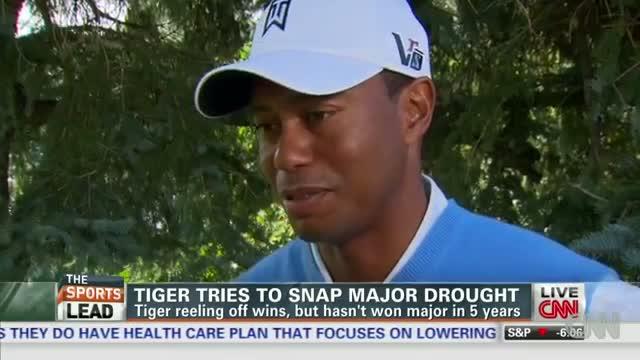 Tiger Woods tries to snap major slump at PGA Championship