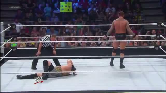 Randy Orton vs. Rob Van Dam: SmackDown, Aug. 9, 2013