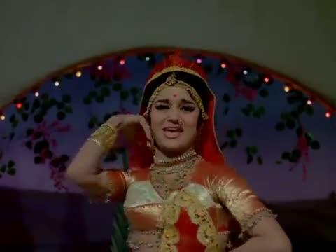 Bansuri Tihari Nandlal Bani Mori Sautaniya - Manoj Kumar, Asha Parekh - Sajan (1969)
