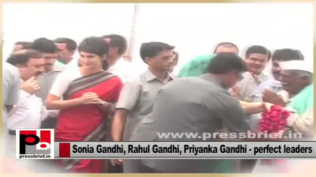 Charismatic Congress leaders - Sonia Gandhi, Rahul Gandhi and Priyanka Gandhi