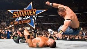 SummerSlam in 60 Seconds: SummerSlam 2007