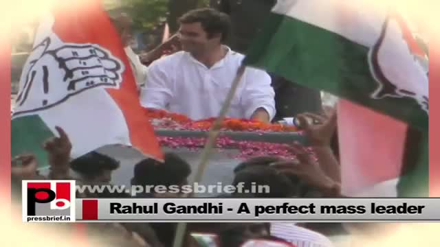 Rahul Gandhi - the young and energetic Congress Vice President