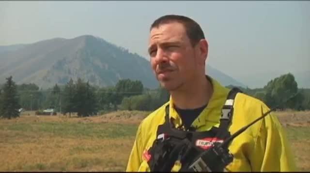 Firefighters: Massive Idaho Blaze Slowing Down