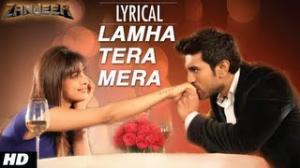 """Lamha Tera Mera"" Song With Lyrics - Priyanka Chopra & Ram Charan"