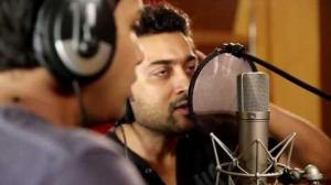 Catch actor Suriya singing for the first time- Suriya unseen video