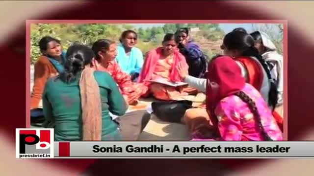 Women empowerment is the important agenda for Sonia Gandhi
