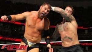 WWE: CM Punk vs. Curtis Axel: Raw, August 19, 2013