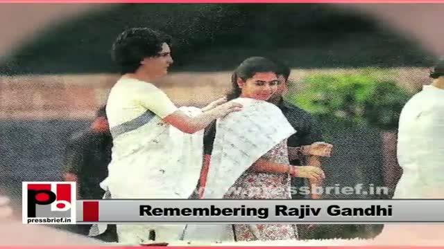 Rajiv Gandhi's 69th birth anniversary: Sonia Gandhi, Rahul, Priyanka pay tributes