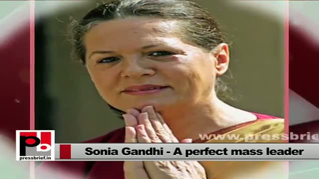 Sonia Gandhi follows Rajiv Gandhi's vision; stresses for women empowerment
