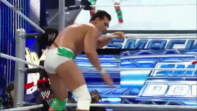 WWE SmackDown: Christian vs. Alberto Del Rio - Aug. 23, 2013
