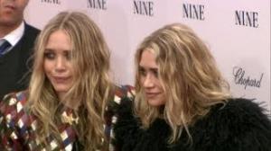 Olsen Twin Celebrates With John Stamos