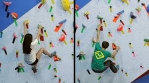 Solving Problems Based on Body Type - Rock Climbing