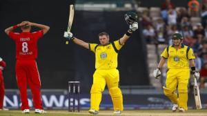 Aaron Finch smashes 156 off 63 balls - England v Australia, 1st NatWest International T20 2013