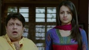 Akshay Kumar humiliates Trisha Krishnan - Khatta Meetha Movie