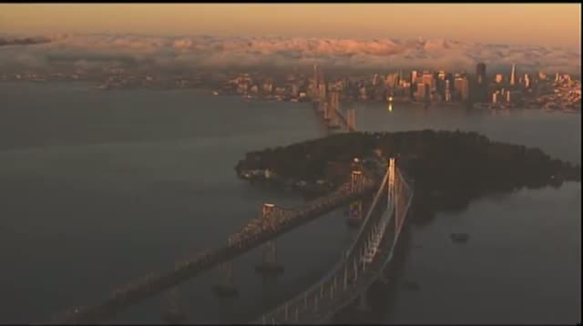 First Morning Rush for New Bay Bridge