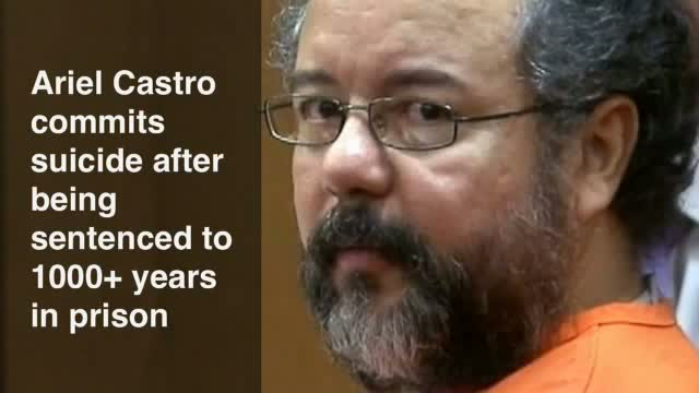 Ariel Castro commits suicide after being sentenced to 1000+ years in prison