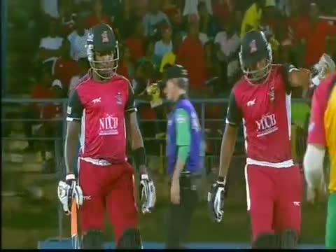 Trinidad & Tobago Red Steel vs Guyana Amazon Warriors - CPL T20 2013 Highlights (1st Semi Final)